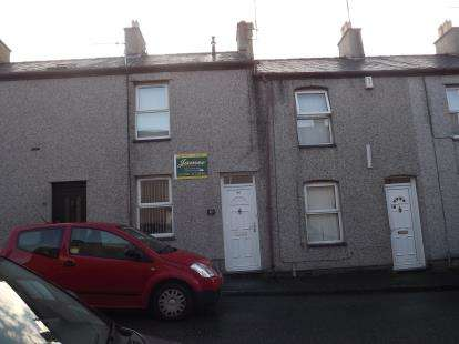 2 Bedrooms Terraced House for sale in William Street, Caernarfon, Gwynedd, LL55