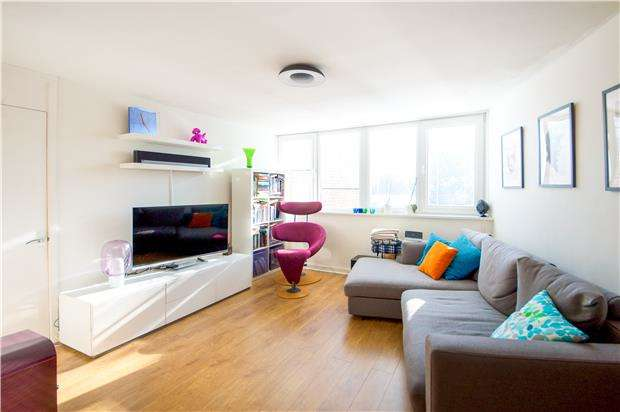 2 Bedrooms Flat for sale in Roxburgh Court, Melrose Road, LONDON, SW18 1PG
