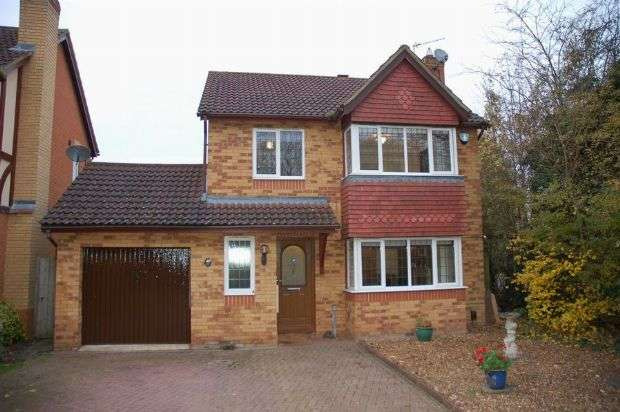 4 Bedrooms Detached House for sale in Woodland Walk, Overstone, Northampton NN3 5NS