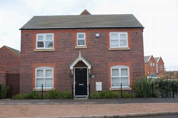 3 Bedrooms Detached House for sale in Carr Road, Moulton, Northampton NN3 7AY
