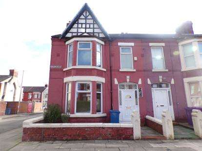 4 Bedrooms End Of Terrace House for sale in Salisbury Road, Wavertree, Liverpool, Merseyside, L15