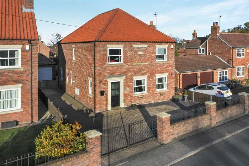 4 Bedrooms Detached House for sale in Laurel Lodge, Finkle Street, Hemingbrough, Selby, YO8 6QN