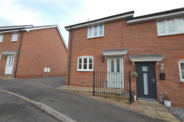 2 Bedrooms Semi Detached House for sale in Great Row View, Wolstanton, Newcastle