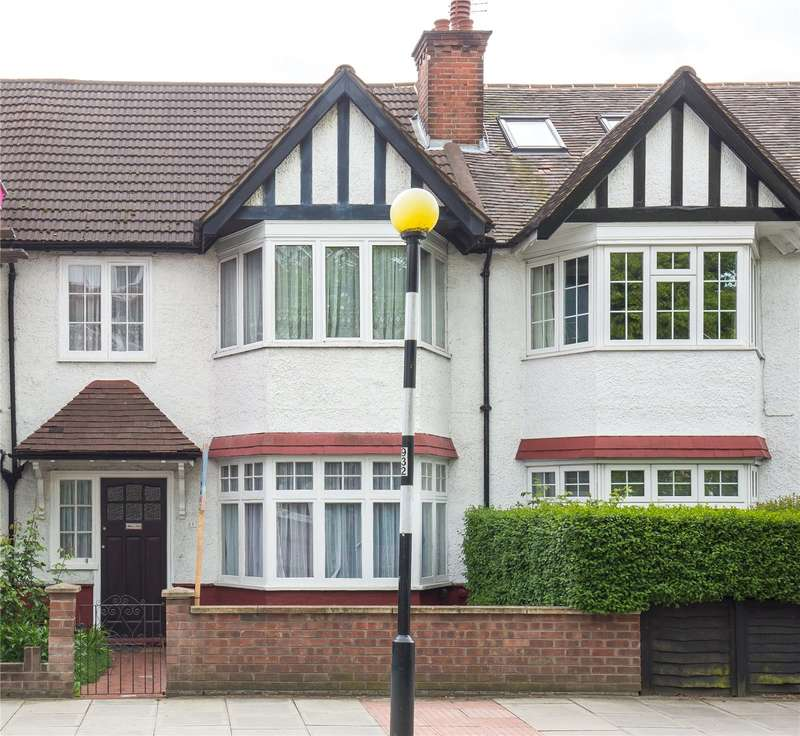 3 Bedrooms Terraced House for sale in Fortis Green, East Finchley, London, N2