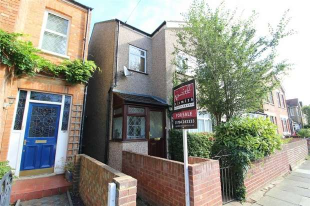 3 Bedrooms Semi Detached House for sale in Chaucer Road, Ashford, Middlesex