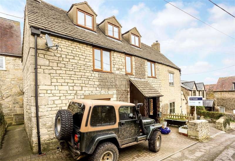 3 Bedrooms Semi Detached House for sale in Townsend, Randwick, Stroud, Gloucestershire, GL6