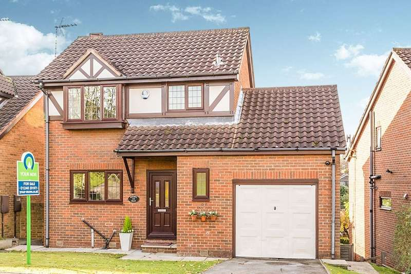 3 Bedrooms Detached House for sale in Foxcroft Drive, Killamarsh, Sheffield, S21