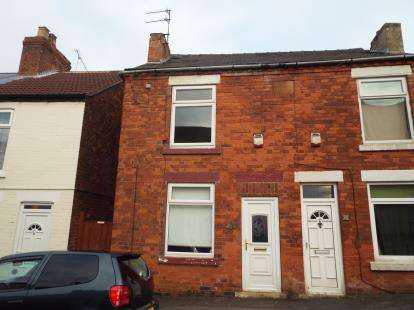 2 Bedrooms Semi Detached House for sale in Bagshaw Street, Pleasley, Mansfield, Nottinghamshire