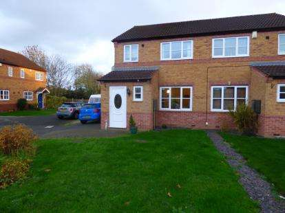 3 Bedrooms Semi Detached House for sale in Durham Close, Tamworth, Staffordshire