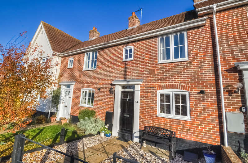 2 Bedrooms Terraced House for sale in Roman Way, Halesworth
