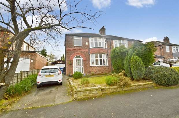 3 Bedrooms Semi Detached House for sale in Eastleigh Road, Heald Green, Stockport, Cheshire