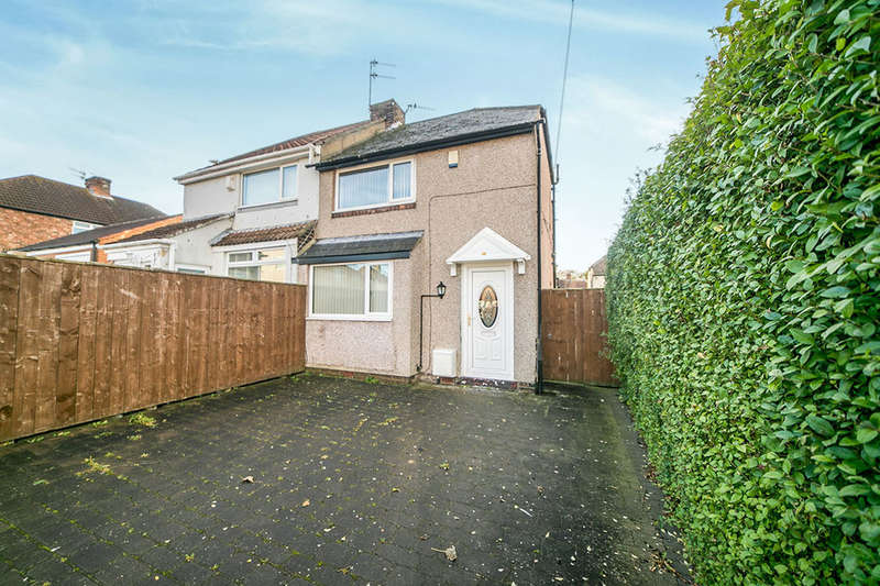 2 Bedrooms Semi Detached House for sale in Meldon Gardens, Lobley Hill, Gateshead, NE11
