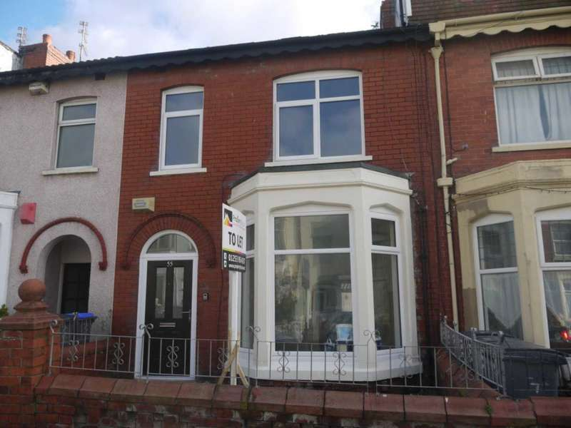 3 Bedrooms Terraced House for rent in Westmorland Avenue, Blackpool.