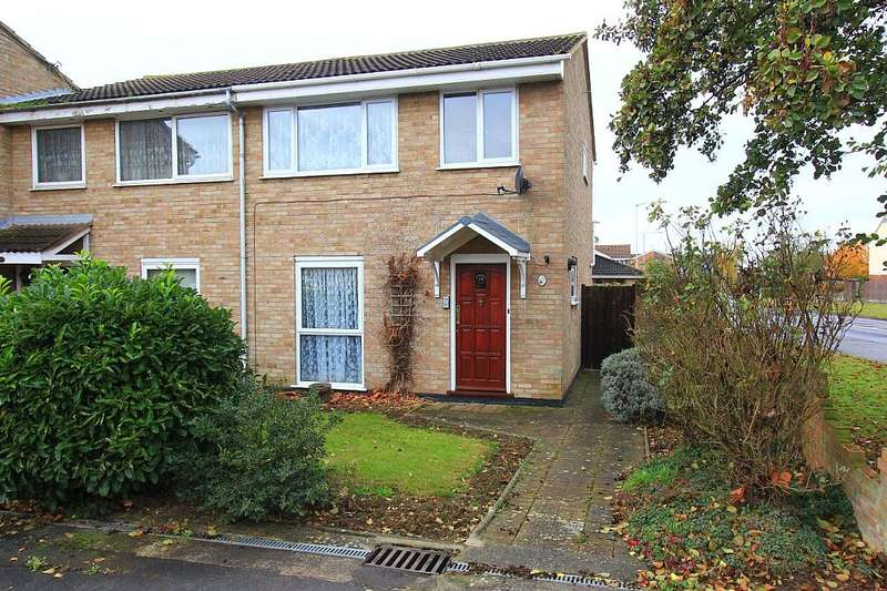 3 Bedrooms End Of Terrace House for sale in Snowdrop Close, Chelmsford, Essex, CM1 6XD