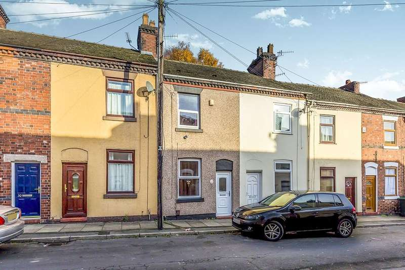 2 Bedrooms Terraced House for sale in Rutland Street, Stoke-On-Trent, ST1