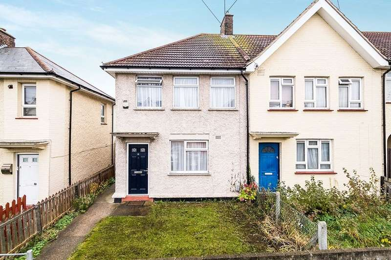 3 Bedrooms Semi Detached House for sale in Ingoldsby Road, Gravesend, DA12