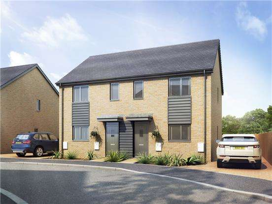 3 Bedrooms Semi Detached House for sale in The Lawrence, Littlecombe, Dursley GL11 4BA