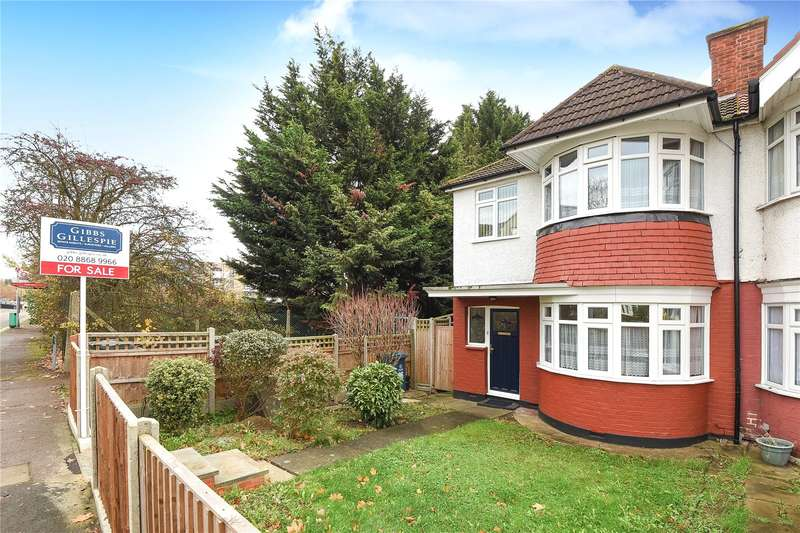 3 Bedrooms End Of Terrace House for sale in Clitheroe Avenue, Harrow, Middlesex, HA2