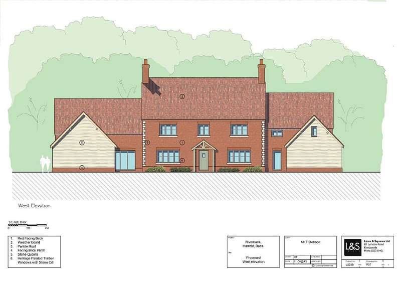 4 Bedrooms Land Commercial for sale in Carlton Road, Harrold, Bedfordshire, MK43 7DS