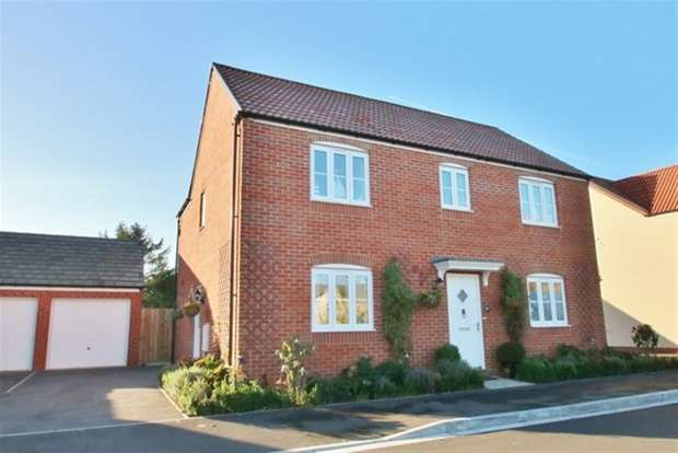 4 Bedrooms Detached House for sale in Sharpham Road, Glastonbury