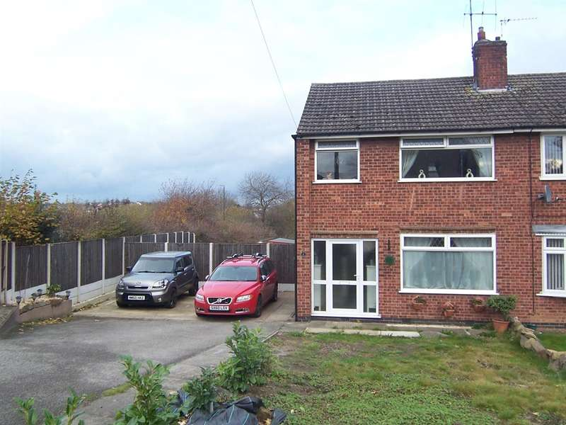 3 Bedrooms Semi Detached House for sale in Rosewood Crescent, Heanor