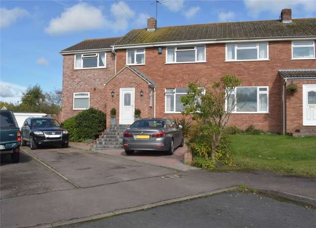 4 Bedrooms Semi Detached House for sale in Hillview Lane, Twyning, Tewkesbury, Gloucestershire