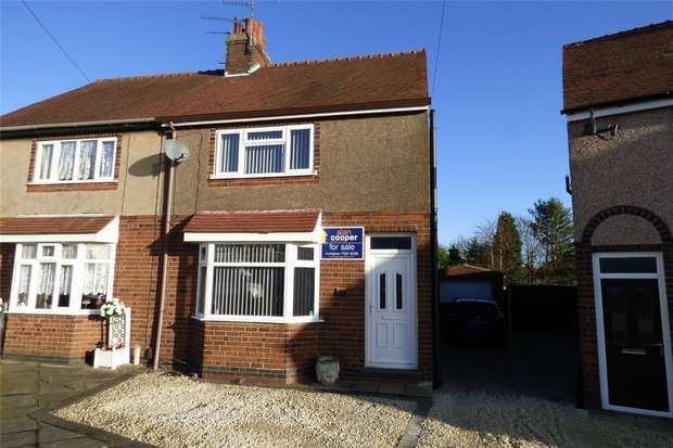 3 Bedrooms Semi Detached House for sale in Elmfield Road, Weddington, Nuneaton, Warwickshire