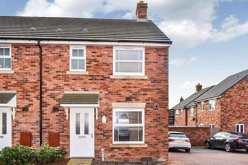 3 Bedrooms End Of Terrace House for sale in Llys Y Dderwen , Coity, Bridgend. CF35 6DE