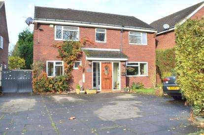 Detached House for sale in Anson Avenue, Lichfield, Staffordshire