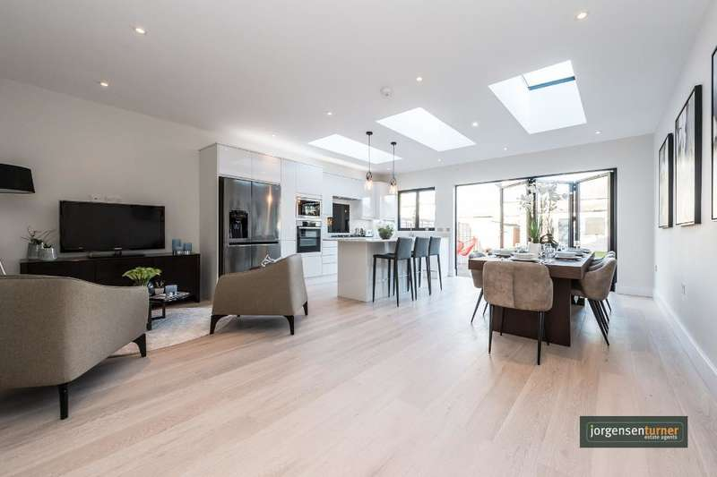 4 Bedrooms House for sale in Hanover Road, London, NW10 3DP