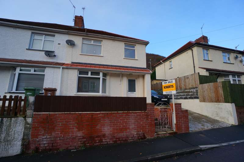 3 Bedrooms Semi Detached House for sale in George Street, Cwmcarn, Newport, NP11