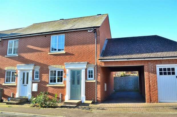 2 Bedrooms End Of Terrace House for sale in Flitch Green, Little Dunmow, Great Dunmow, Essex