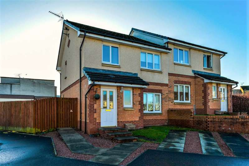 3 Bedrooms Semi Detached House for sale in Ness Avenue, Johnstone