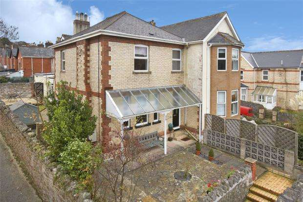 4 Bedrooms Semi Detached House for sale in Old Exeter Road, Newton Abbot, Devon