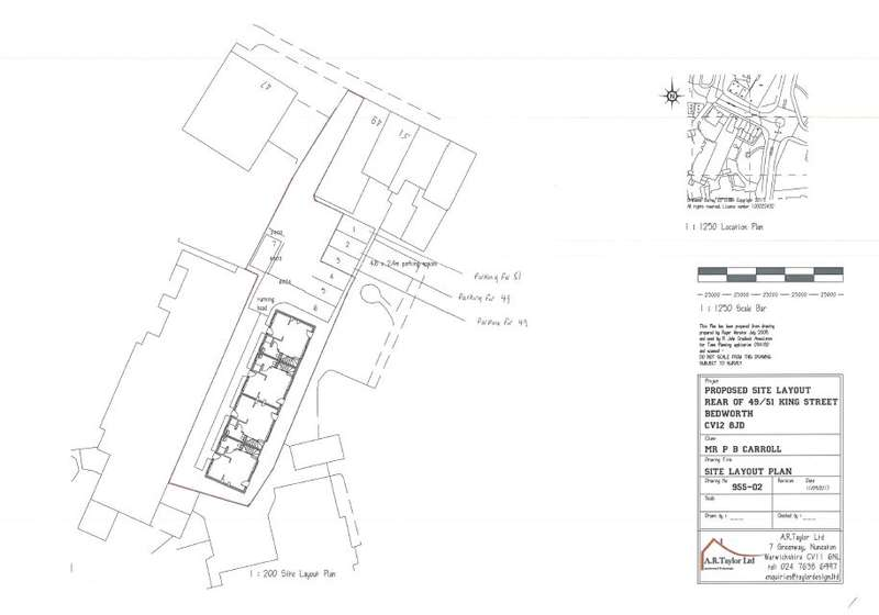 Land Commercial for sale in King Street,R/O 49-51,Bedworth,Warwickshire,CV12 8JD, Bedworth