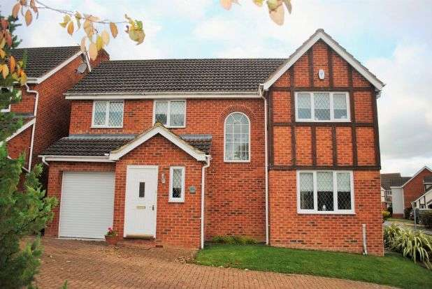 4 Bedrooms Detached House for sale in Rowley Way, Kingsthorpe, Northampton NN2 8XD