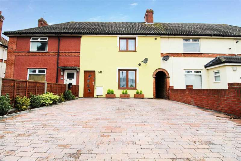 3 Bedrooms Terraced House for sale in Turner Road, Ipswich