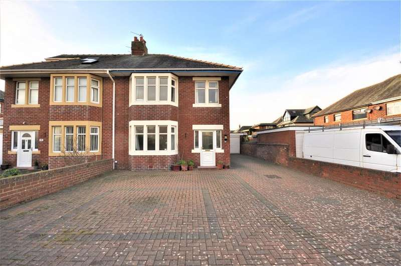 3 Bedrooms Semi Detached House for sale in Raleigh Avenue, Blackpool, Lancashire, FY4 1SG