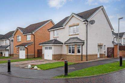 3 Bedrooms Detached House for sale in Lochnagar Road, Motherwell