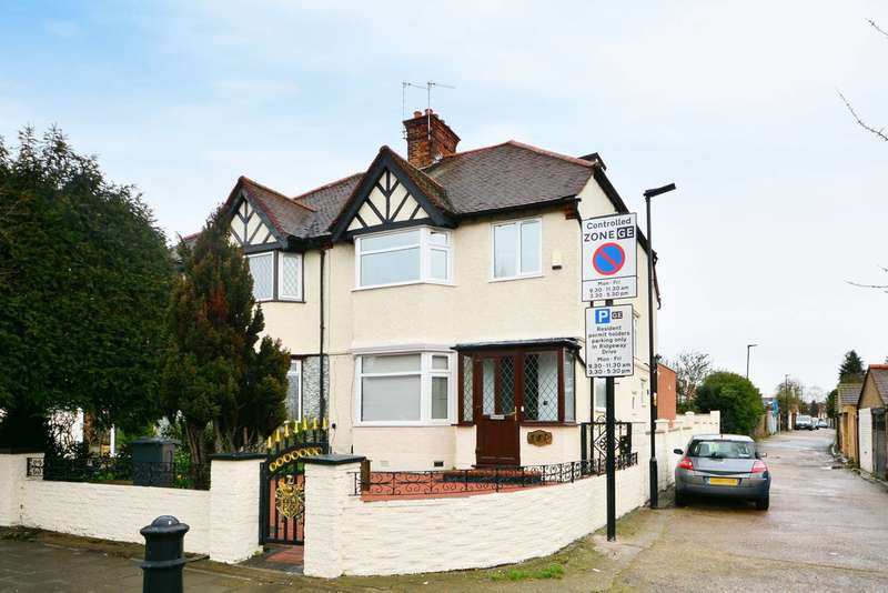 4 Bedrooms Semi Detached House for sale in Gunnersbury Avenue, Gunnersbury, W3