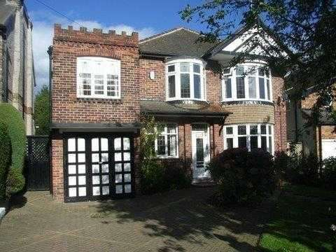 5 Bedrooms Detached House for rent in Dobcroft Road, Sheffield