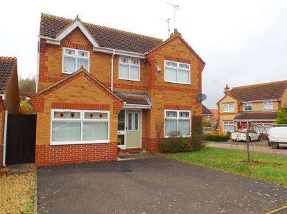 4 Bedrooms Detached House for sale in Fraserburgh Way, Orton Southgate, Peterborough, Cambridgeshire