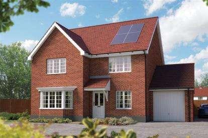 5 Bedrooms Detached House for sale in Off Silfield Road, Wymondham, Norfolk