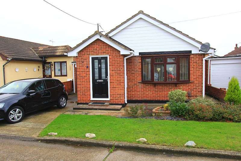 1 Bedroom Detached Bungalow for sale in Tilburg Road, Canvey Island, Essex, SS8 9EW
