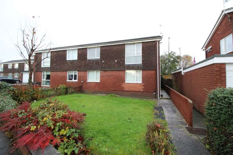 2 Bedrooms Flat for sale in Stirling Drive, NORTH SHIELDS, NE29