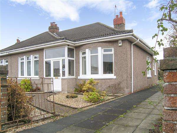 3 Bedrooms Semi Detached Bungalow for sale in St Ronans Drive, Burnside, Glasgow