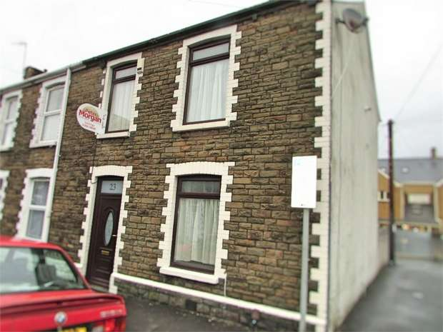 3 Bedrooms End Of Terrace House for sale in Creswell Road, Neath, Neath, West Glamorgan