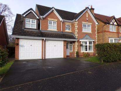 5 Bedrooms Detached House for sale in Allerton Drive, Heathley Park, Leicester, Leicestershire