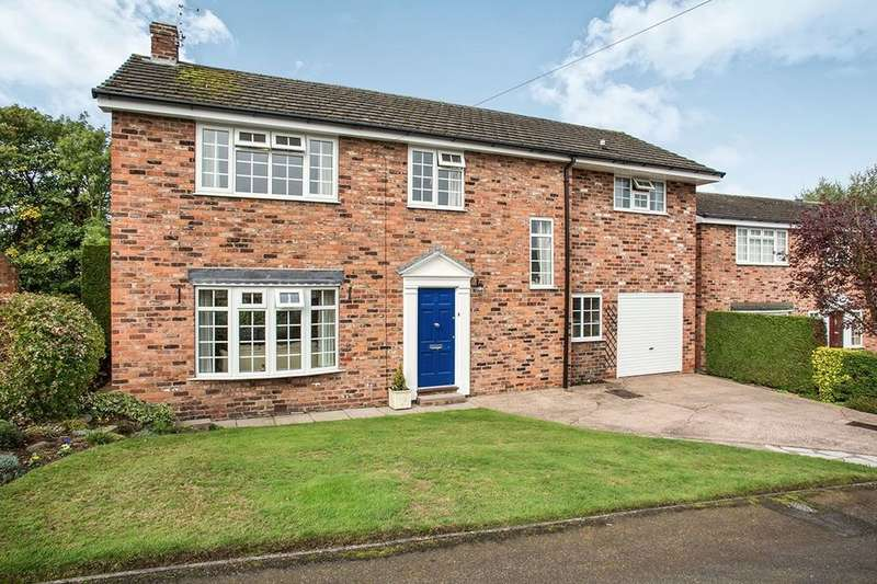 4 Bedrooms Detached House for sale in Valley Road, Weaverham, Northwich, CW8