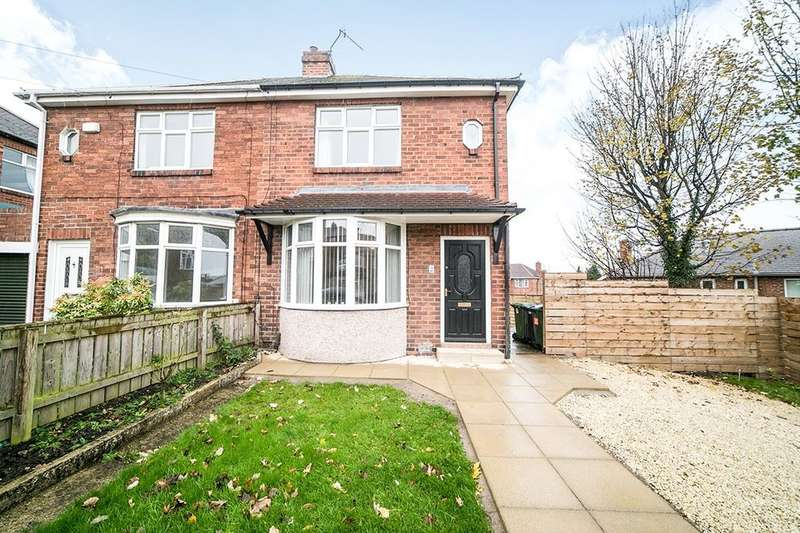 2 Bedrooms Semi Detached House for sale in Mount Grove, Dunston, Gateshead, NE11